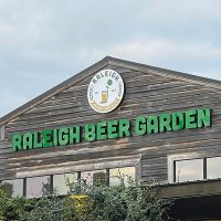 Raleigh Beer Garden Glenwood Ave